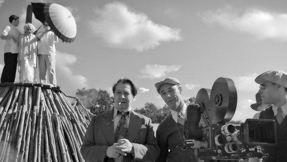 Gary Oldman als Herman J. Mankiewicz