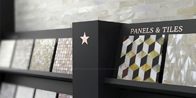Siminetti Panels & Tiles Display Stand