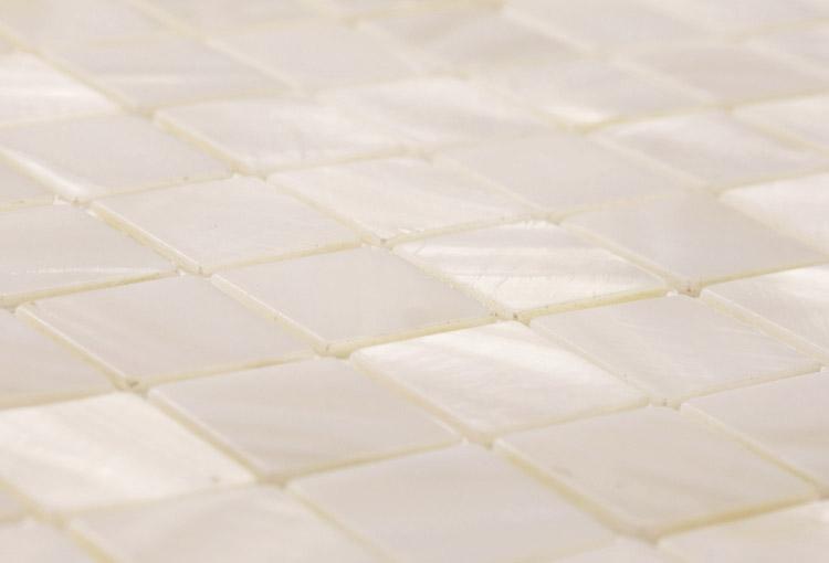 Bianco white mosaic tiles