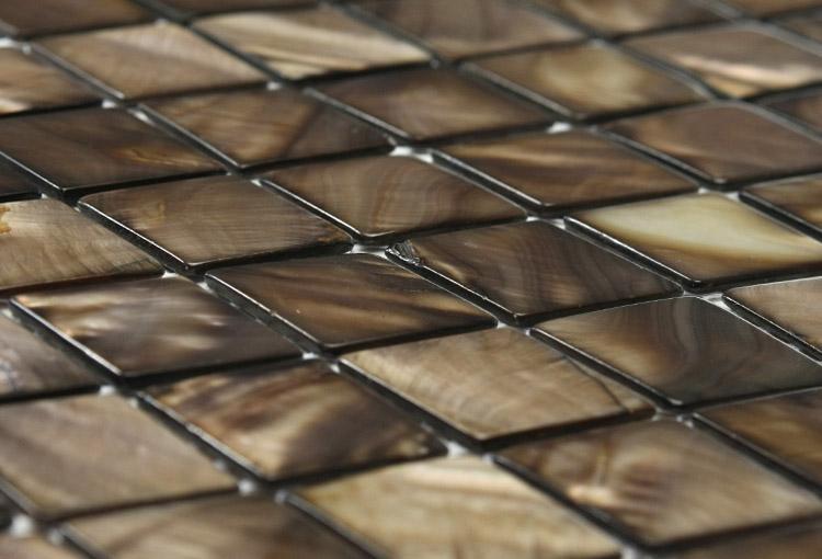 Gentle Earth Brown Mosaic Tiles