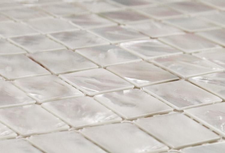 Innocence Silver Mosaic Tiles