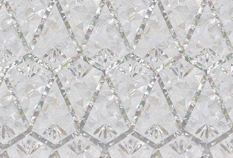 Siminetti Foxglove decorative panel