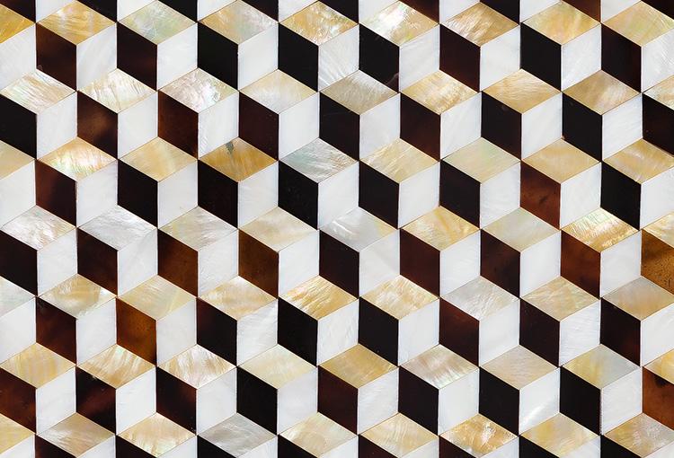 Siminetti 3D Golden Cube