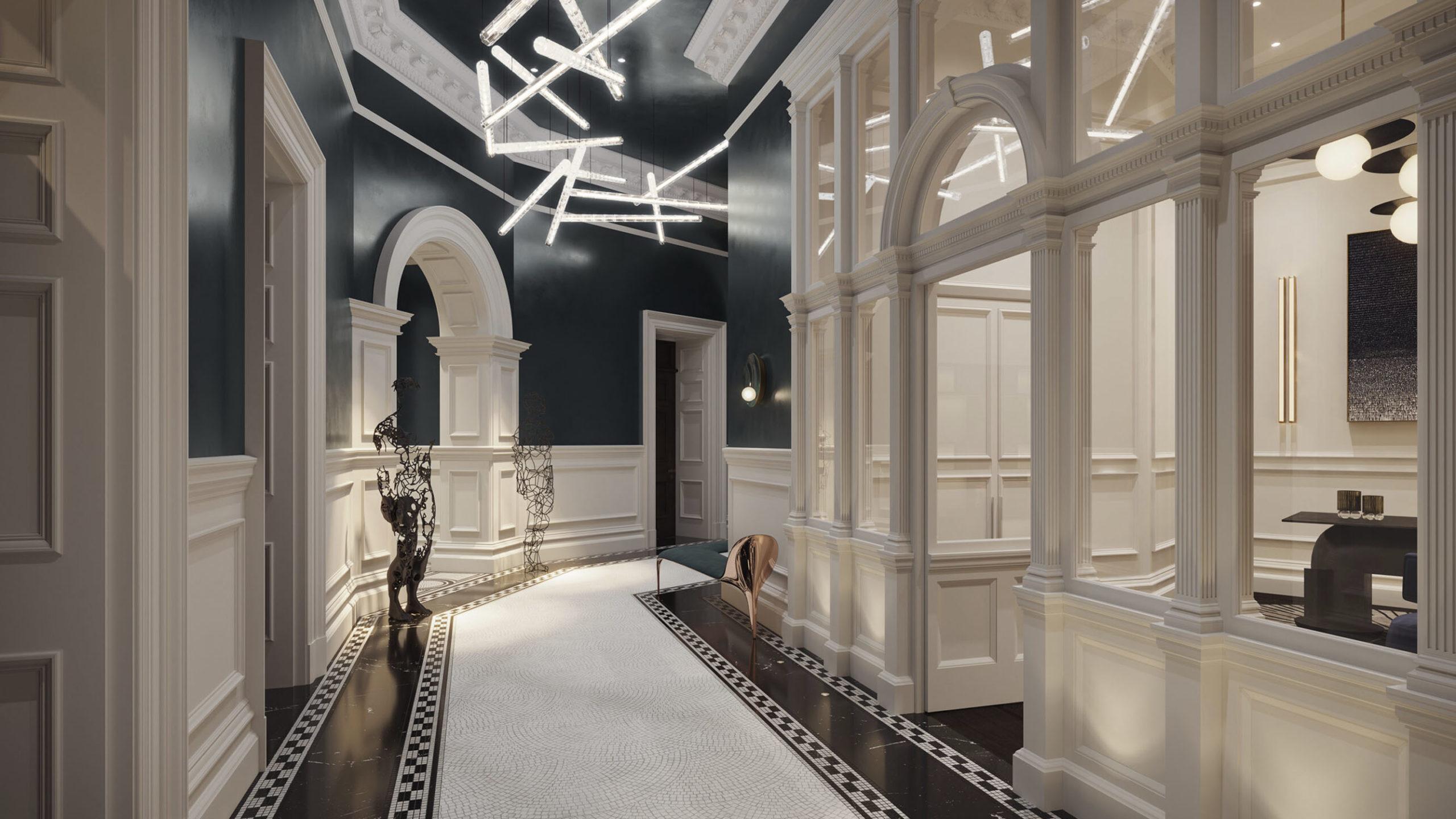 The OWO Residences Hallway
