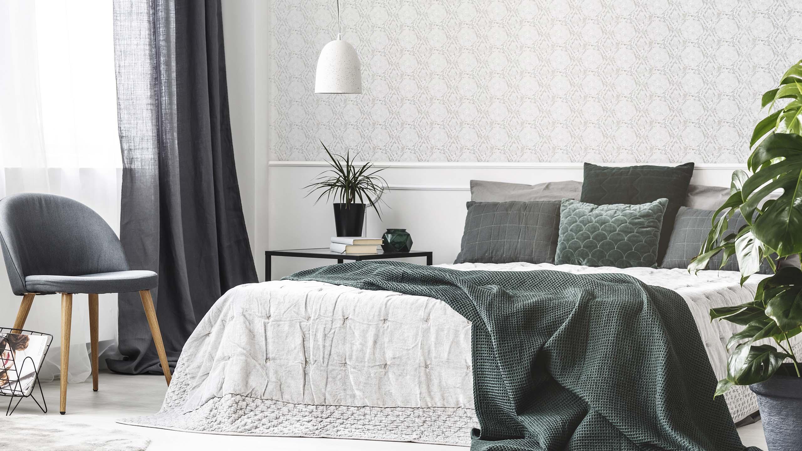 Calming green; 2022 interior design trend