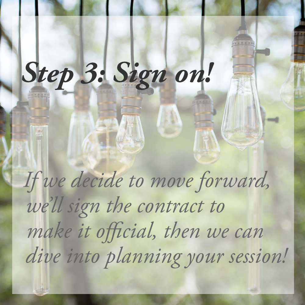 idea lights_sq_sign on step 3 if we decide to move forward we'll sign the contract to make it official, then we can dive into planning your session
