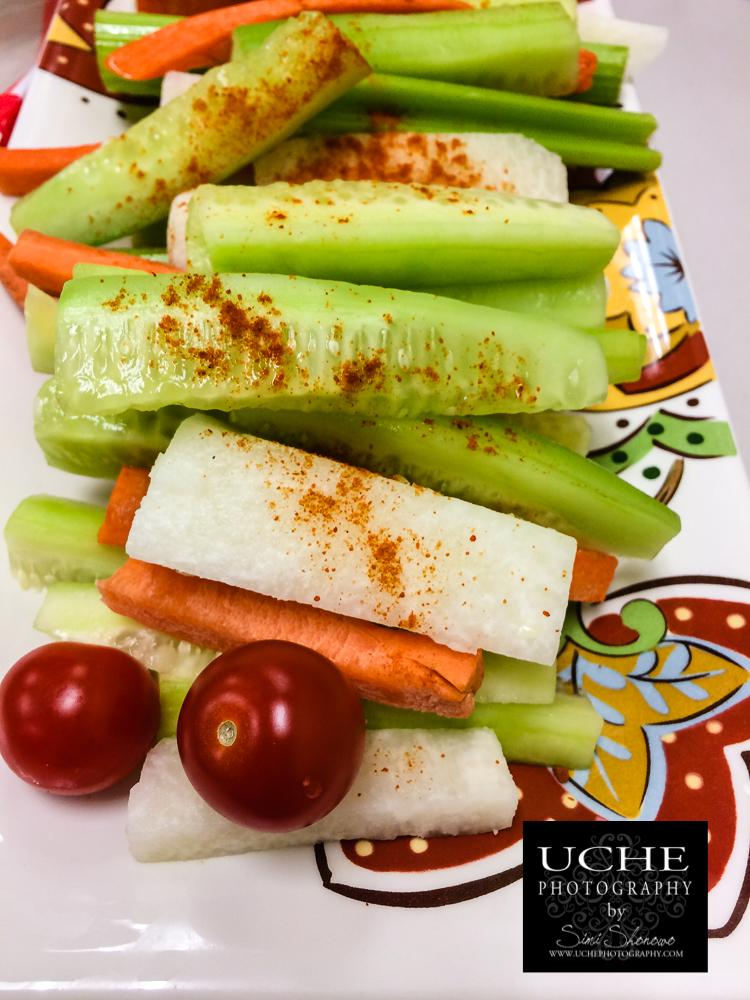 {day 335 mobile365 2016… potluck veggies}