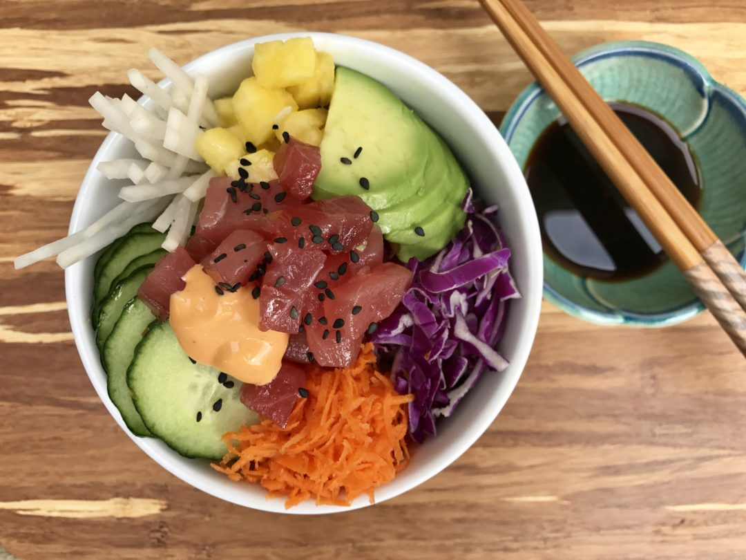 Hawaiian Poke Bowl, For My Uncle Ben