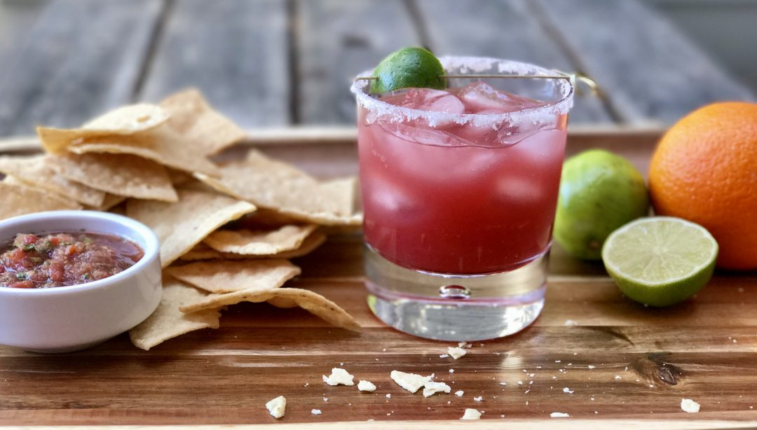 A Chilled Blood Orange Margarita, Need I Say More…