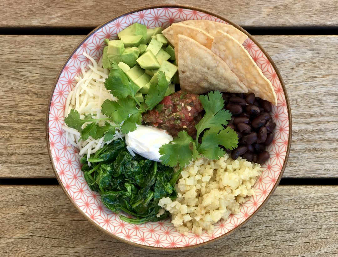 California Vegetarian Burrito Bowl