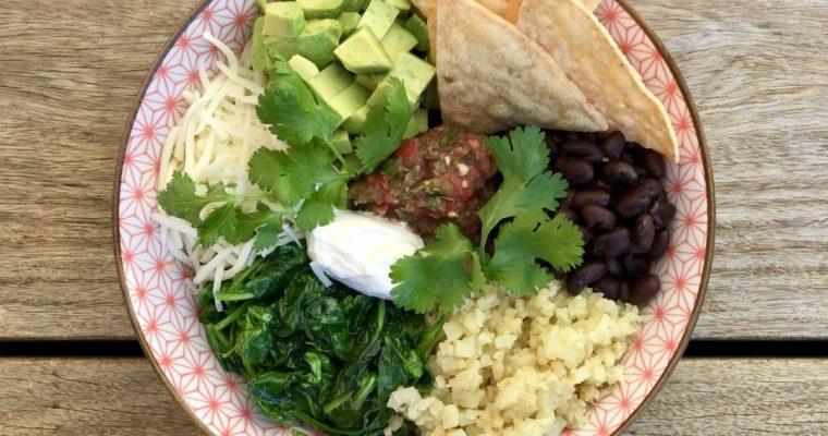 California Vegetarian Burrito Bowl