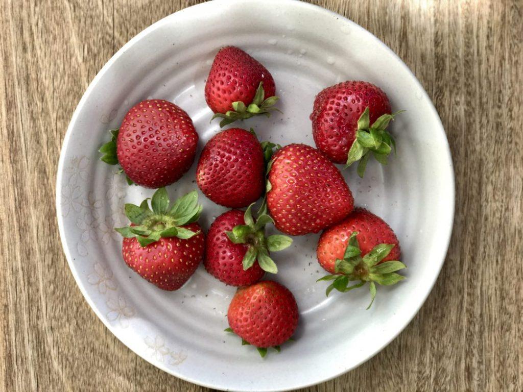 raspberry-orange quick jam