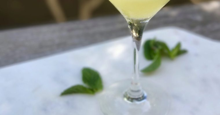 Pineapple Mint Martini-Oh My!