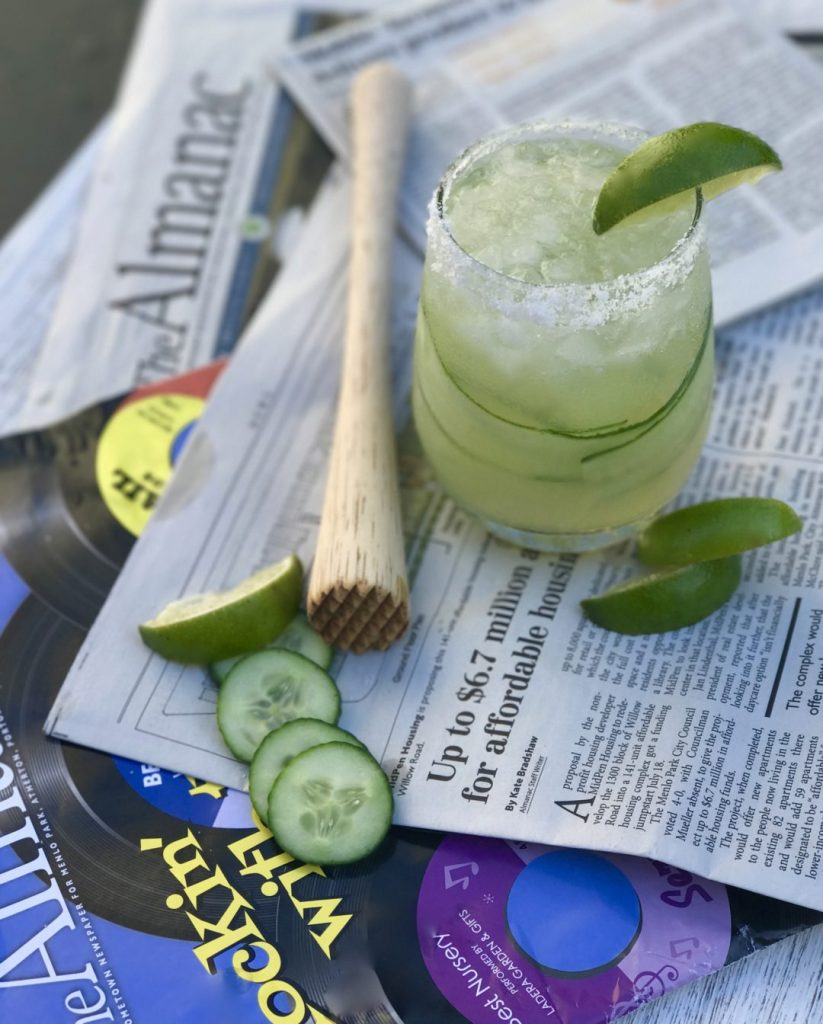 cucumber-tequila cooler