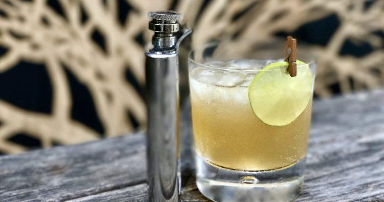 Dark N' Stormy Cocktail