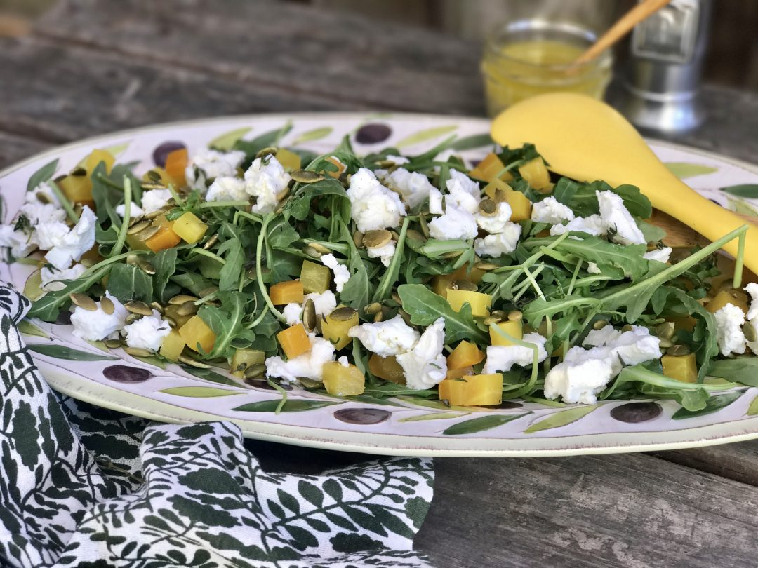 Arugula And Golden Beet Salad–Sometimes Simple Is Best
