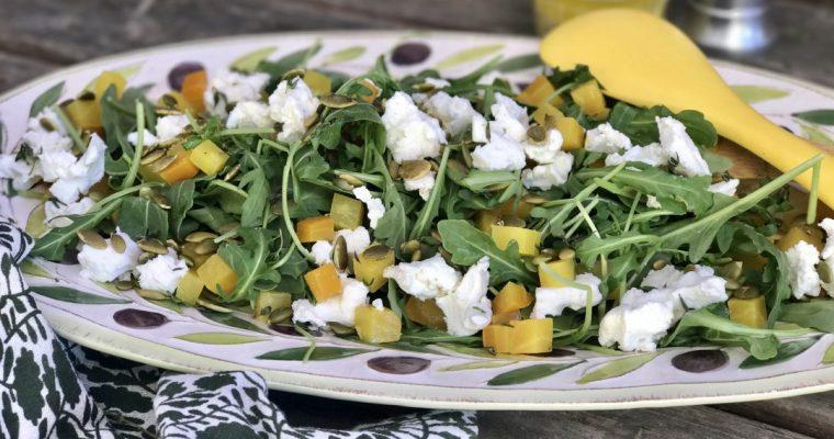Arugula And Golden Beet Salad–Sometimes Simple Is Best
