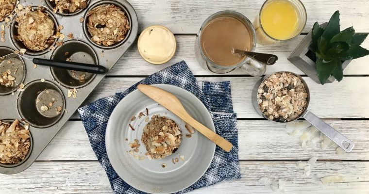 Low-Sugar Banana Muesli Breakfast Muffins You Can't Say No To
