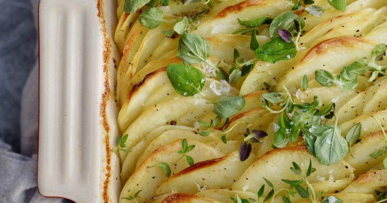 Crispy Leaf Potatoes