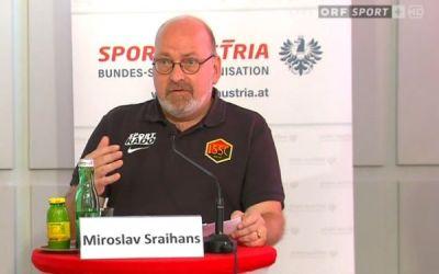 fan.at-Talk mit Obmann Miroslav Sraihans