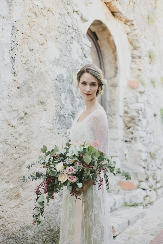 bouquet wild & romantic scomposto simmi