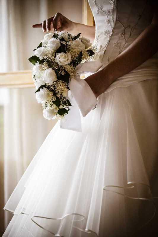 bouquet bianco goccia simmi