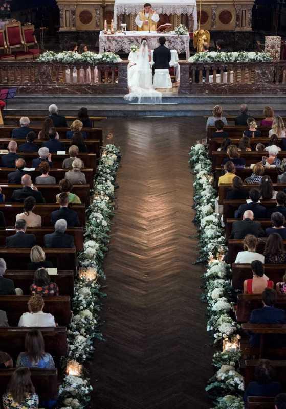 Allestimento Chiesa Santi Angeli Custodi - PH D. Bozzalla:
