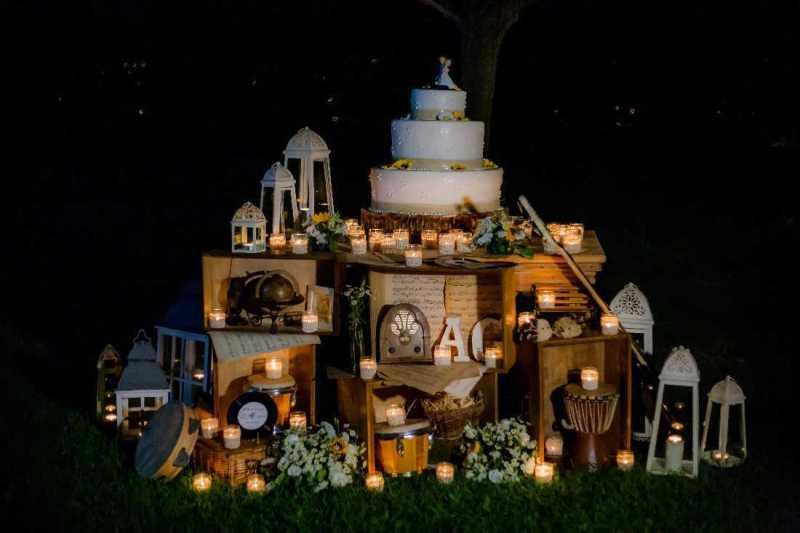 Wedding Cake a Villa Bernese - PH S. Ierace: