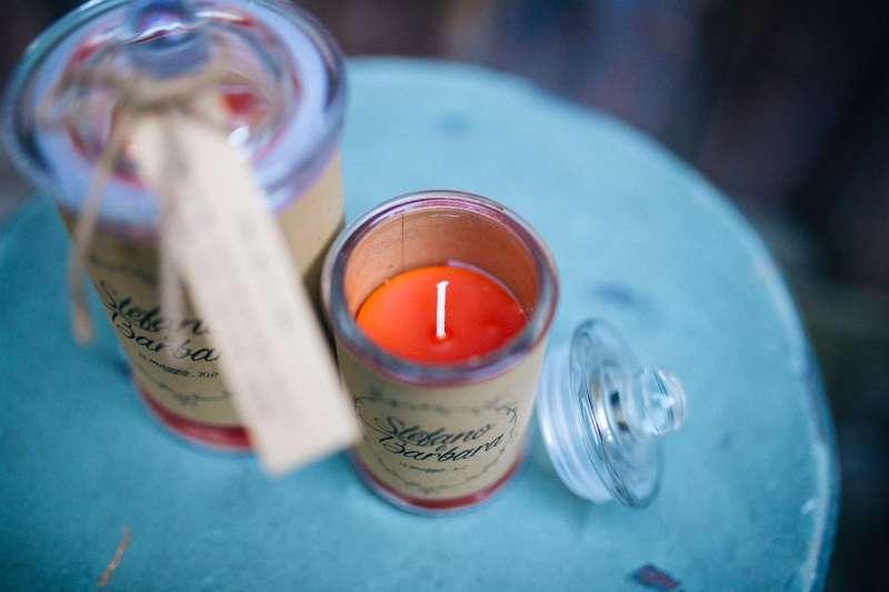 Matrimonio Country Chic Torino : Bomboniere le candele