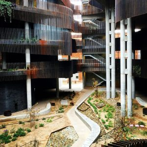 The Environment and Natural Resources 2 Building at UA is designed like a slot canyon.