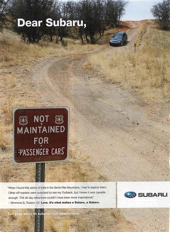 Dear Subaru,