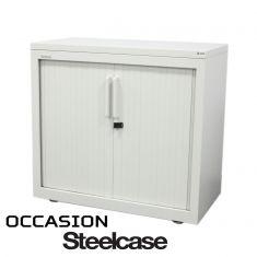 armoire basse hauteur bureau metallique steelcase