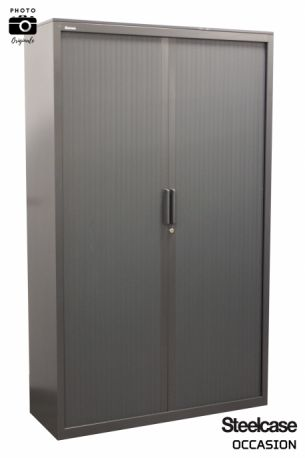 armoire grise monobloc steelcase