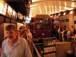 Peak Tram terminal, Hong Kong.