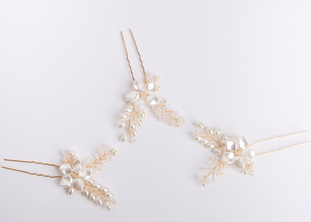 Marilyn Bridal Hair Pins