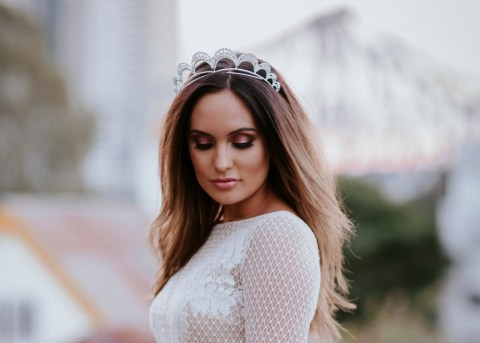 Gracie Diamante Bridal Tiara