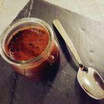 Budino al cioccolato e semi di chia