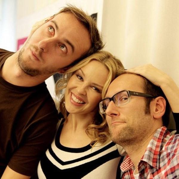 Kylie Minogue (mit Böhmi)