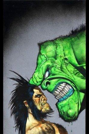 Hulk v Wolverine