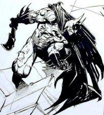SimonBisley__batman-lobo_pin-up