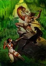 Tarzan and La of Opar