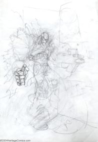 Terminator Early Sketch