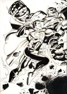 superman brainiac punch 2
