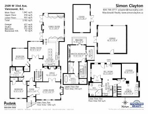 2509 W 33RD Avenue Floor Plan