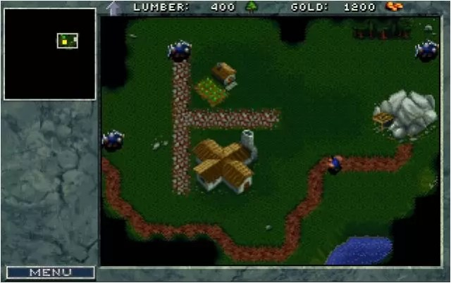 Warcraft: Orcs and Humans (Blizzard Entertainment, 1994)