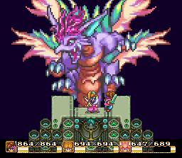 Combat final contre la Mana Beast