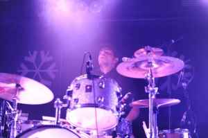 Extreme drum-face with Oli Brown, Waterfront, Norwich, 2010