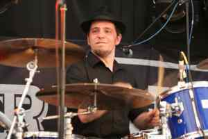 Drum-face at Glastonbury 2010