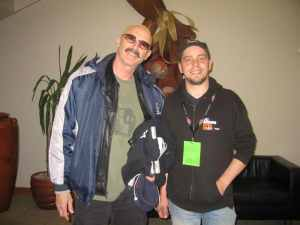 with Tony Levin (King Crimson, Peter Gabriel)