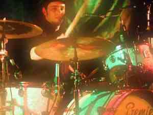 Performing with Oli Brown, Swansea